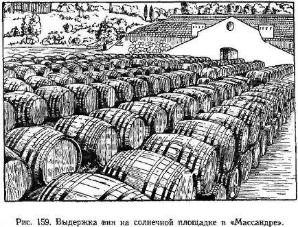 "видержка вин на сонячному майданчику в ""Манссарде"""