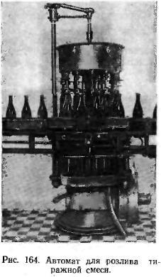 Автомат для розлива тиражной смеси